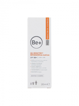 Be+ Gel Reductor y Reparador SPF50+ 20ml Cinfa