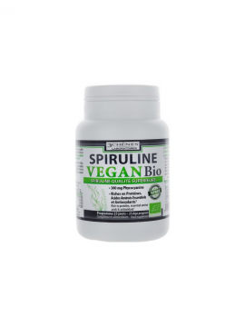 Spirulina Vegan Bio 100 comprimidos 3 Chênes