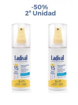 Protector Solar Spray FPS15 Duplo Ladival