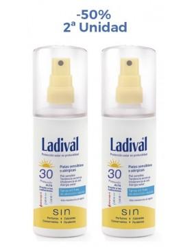Protector Solar Spray FPS30 Duplo Ladival