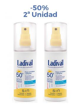 Protector Solar Spray FPS50+ Duplo Ladival