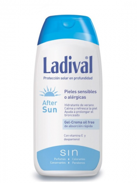 Crema Aftersun Pieles Sensibles o Alergicas 200ml Ladival