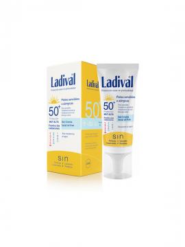 Crema Protección Solar FPS50+ Pieles Sensibles Alergicas Ladival