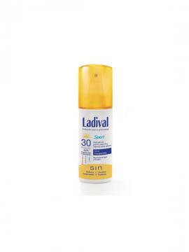 Protector Solar Spray Transparente FPS30 Sport 150ml Ladival