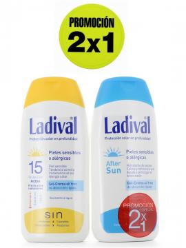 Crema Proteccion 15 + After Sun promoción 2x1 Ladival