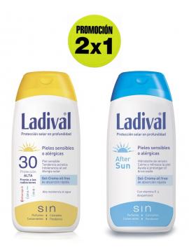Crema Proteccion 30 + After Sun promoción 2x1 Ladival