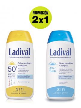 Crema Proteccion 50 + After Sun promoción 2x1 Ladival