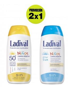 Protector Solar Niños FPS50 + Aftersun Promoción 2x1 Ladival