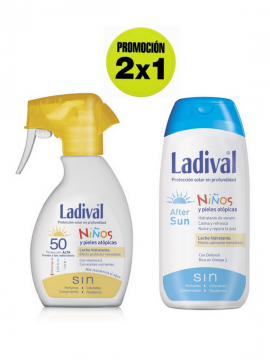 Leche Proteccion FPS50 Spray + Aftersun promoción 2x1 Ladival