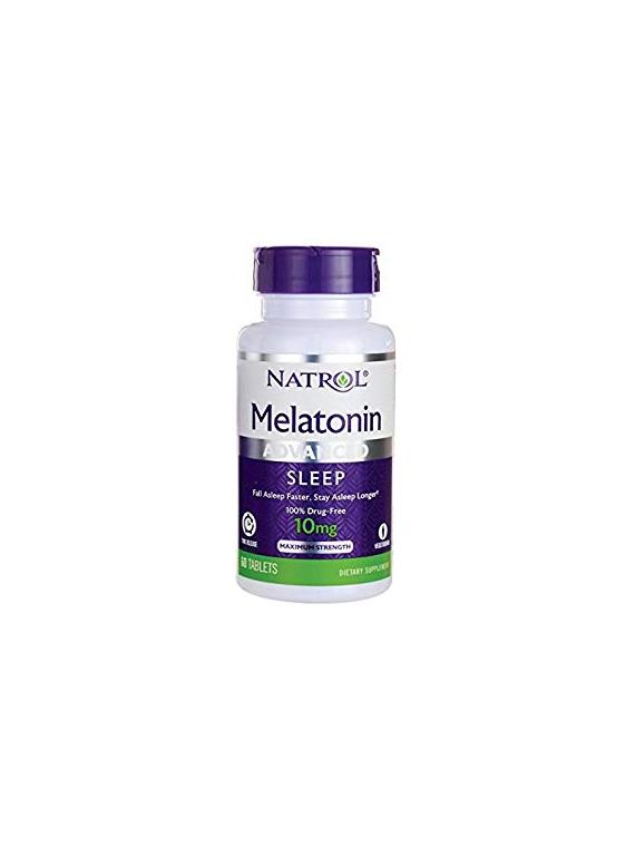 Melatonina 10mg 60 Tabletas Natrol