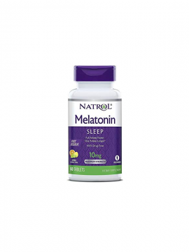 Melatonina 10mg 60 Tabletas Fast Dissolve Natrol