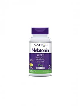 Melatonina 10mg 60 Tabletas Fast Dissolve Natrol