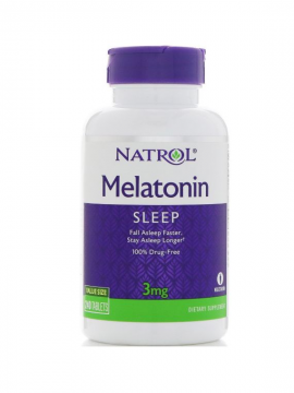Melatonina 3mg 240 tabletas Natrol