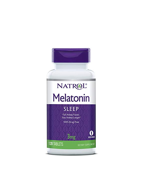 Melatonina 3mg 120 tabletas Natrol