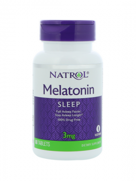 Melatonina 3mg 60 tabletas Natrol