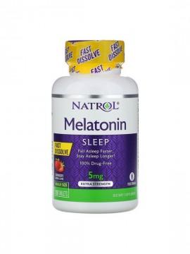 Melatonina 5mg Fast Dissolve 150 tabletas Natrol