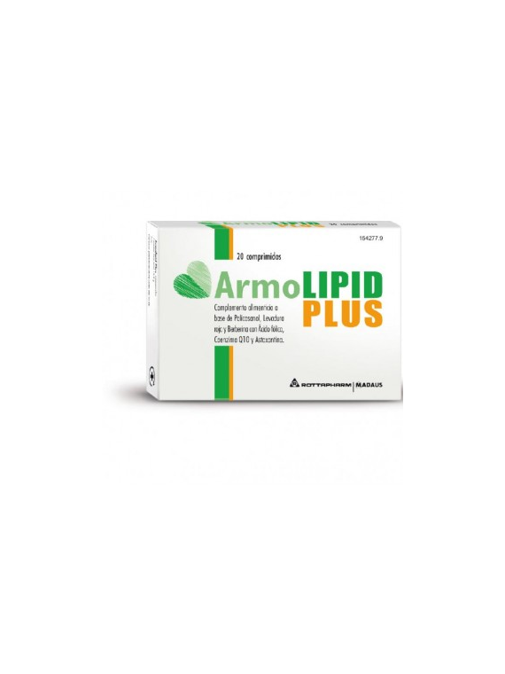 Armolipid Plus 20 comprimidos Meda