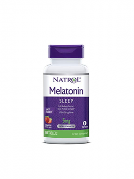 Melatonina 5mg Fast Dissolve 90 tabletas Natrol