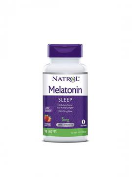 Melatonina 5mg Fast Dissolve 90 tabletas Natrol