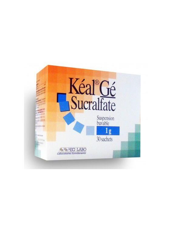 Keal Ge Sucralfato Suspension Oral 1G 30 Sobres Eg Labo