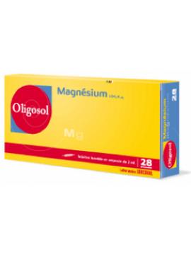Oligosol Magnesium 28 ampollas Labcatal