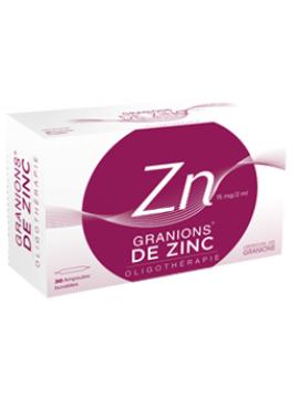 Oligoelemento Zinc 30 ampollas Granions