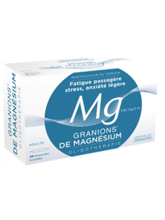 Oligoelemento Magnesio 30 ampollas Granions