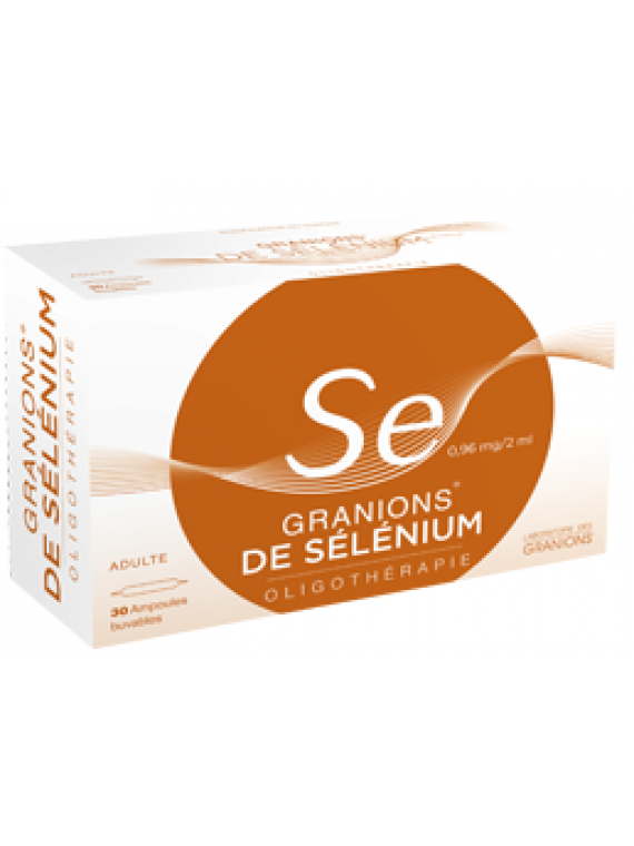 Oligoelemento Selenio 30 ampollas Granions