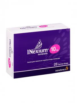 Inexium Susp Bebible 10mg sobres AstraZeneca