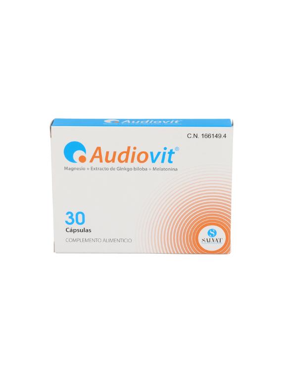 Audiovit 30 Cápsulas Salvat