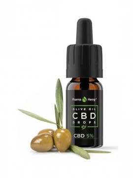 CBD 5% Aceite de Oliva 10ml Pharma Hemp