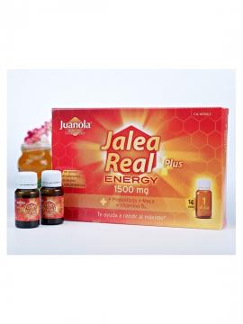 Jalea Real Energy Plus 1500mg 14 viales Juanola