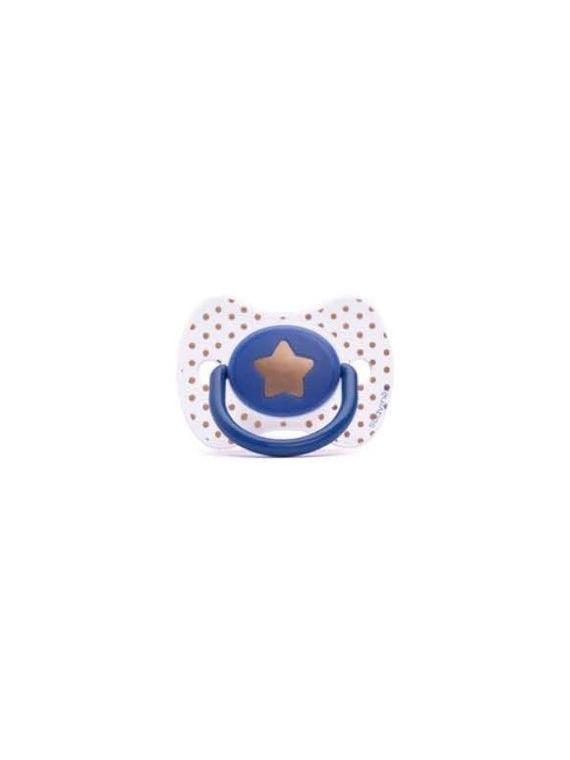 Chupete Fisiológico Haute Couture 0-4 meses estrella Suavinex