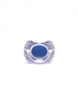 Chupete Fisiológico Haute Couture +4 meses azul Suavinex
