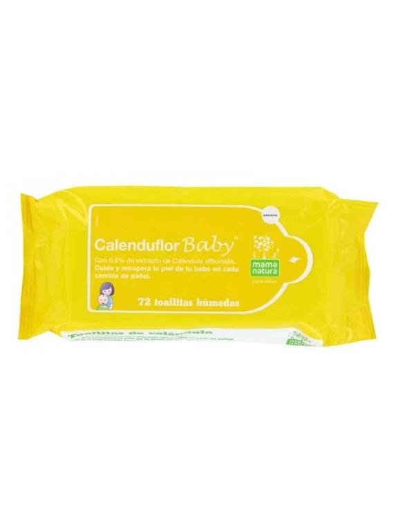 Calenduflor Baby toallitas 72 unidades Dhu