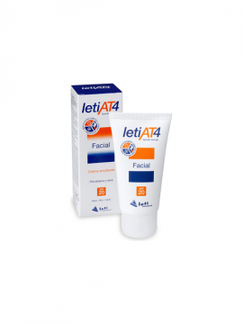 Leti AT4 Facial SPF20 barrera multiprotectora 50ml Leti