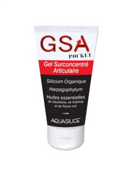 GSA Gel Articular 50ml Pocket Aquasilice