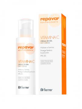 Repavar Revitalizante Crema de Día VIT C FPS20 50ml Ferrer