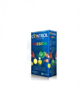 Preservativos Fussion Adapta 12 unidades Control