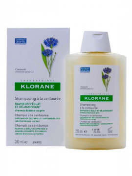 Champú Centáurea reflejos plateados 200ml Klorane