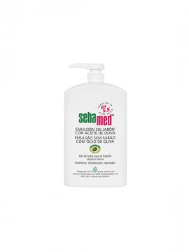 Gel baño emulsión sin jabón con Aceite de Oliva 1000ml Sebamed