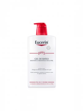Gel de Baño PH5 Piel Sensible 1000ml Eucerin