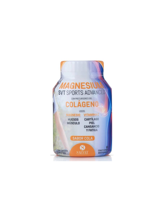Magnesium SVT Sports Advanced sabor cola 60 comprimidos Salvat