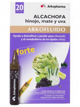 Arkofluido Alcachofa Forte 20 ampollas Arkopharma