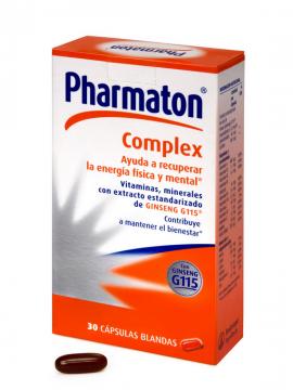 Pharmaton Complex 30 cápsulas Boehringer Ingelheim