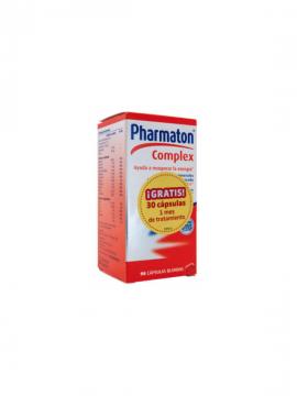 Pharmaton Complex 60 cápsulas + 30 gratis Boehringer Ingelheim