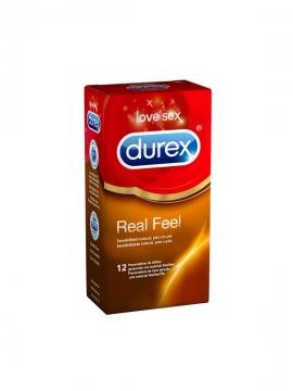 Preservativos Real Feel 12 unidades Durex