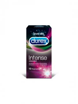Preservativos Intense Orgasmic 12 unidades Durex