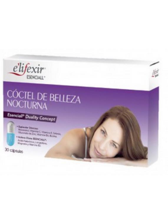 Cóctel de belleza nocturna 30 cápsulas esenciall Elifexir