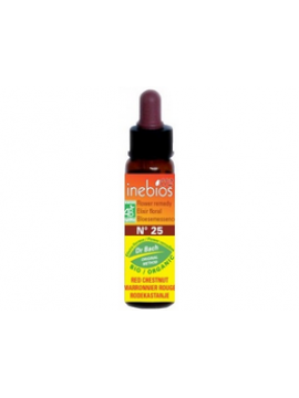 Flores de Bach 25 Red Chestnut 10ml Inebios